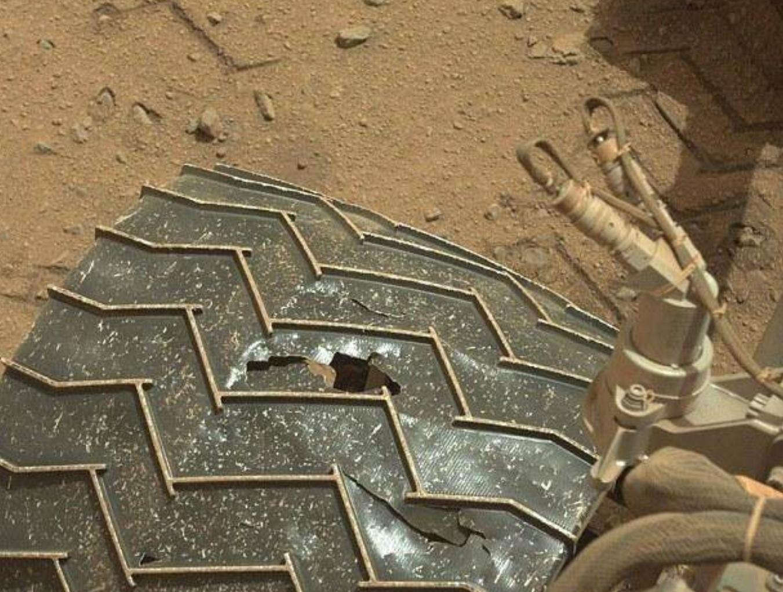 NASA研发超弹性轮胎 火星任务拒绝爆胎 空间探测器 第2张-泥人传说