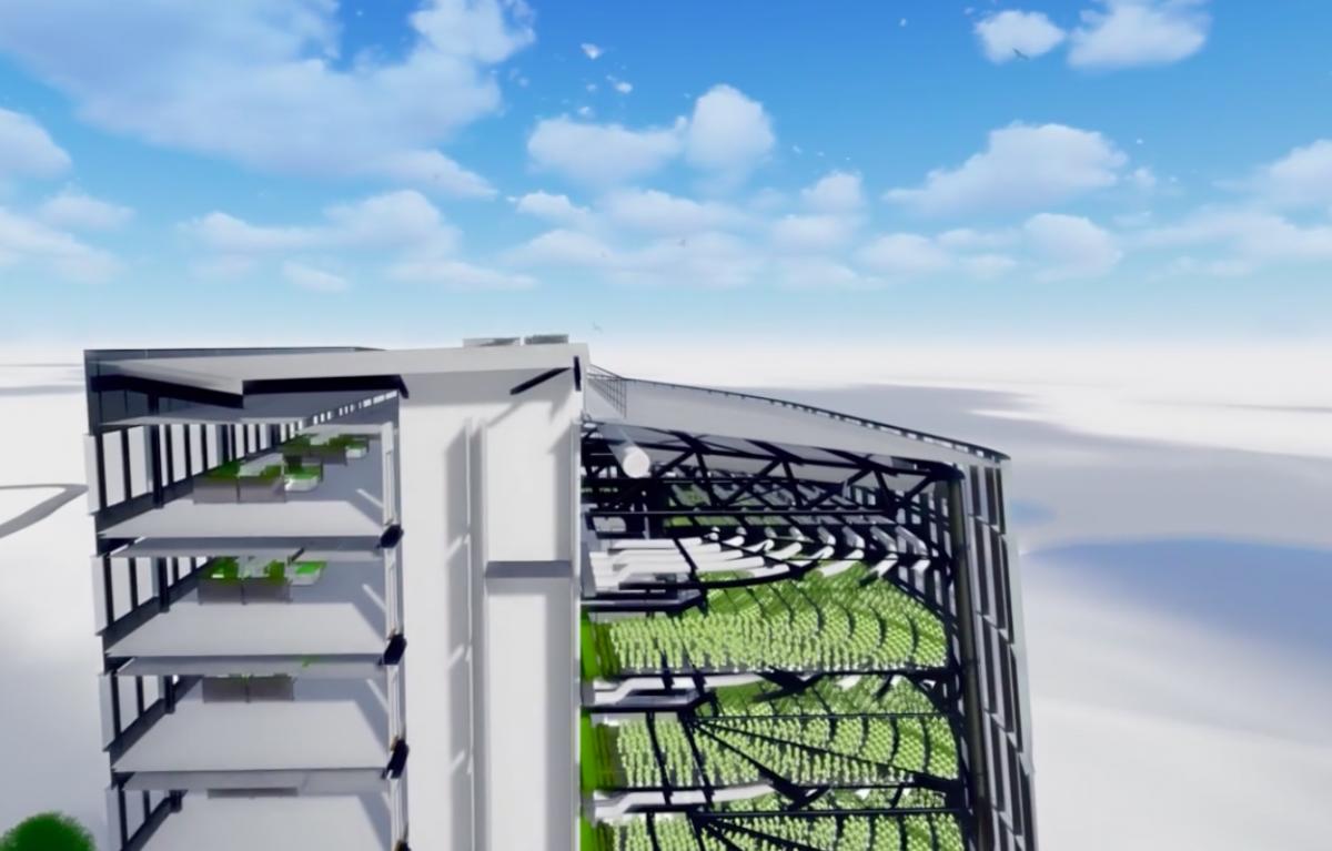 Plantagon在WEF发布植物大厦设计方案上海或将兴建城市农场 农业科技 第3张-泥人传说
