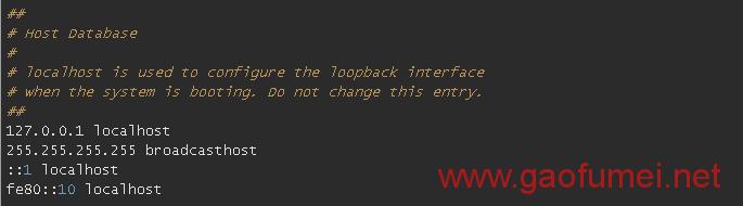 hosts文件在哪?怎么修改?另附Windows7/8/10 Mac/iPhone原版hosts文件 网络问题 第3张-泥人传说