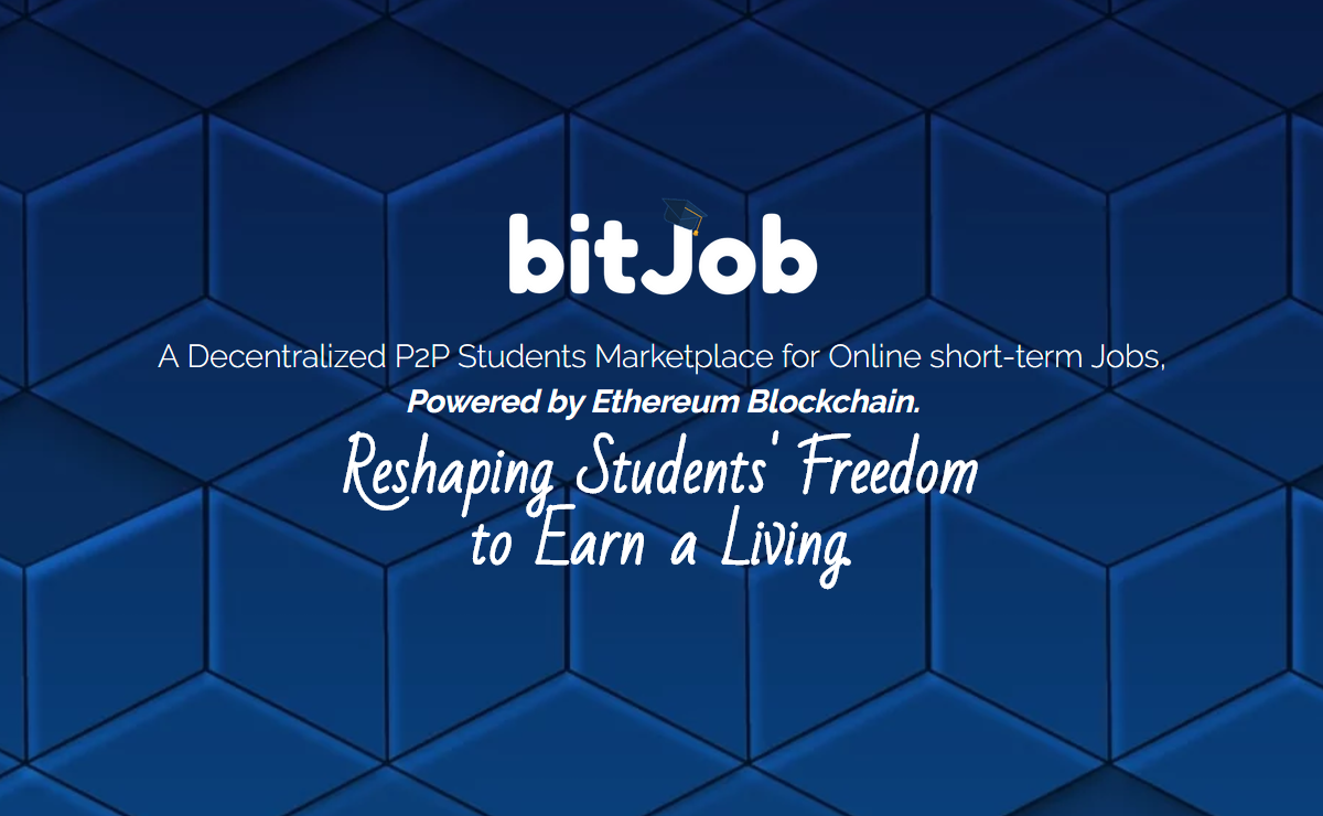 BitJob获得200万美元启动资金针对大学生的区块链就业服务平台 区块链 第3张-泥人传说