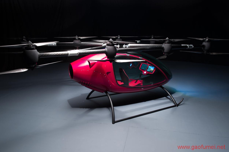 Passenger Drone发布载无人机拥有16旋翼能载2人 无人机 第2张-泥人传说