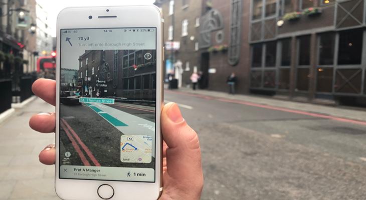 Blippar发布AR导航软件为路痴带来福音 增强现实 第1张-泥人传说