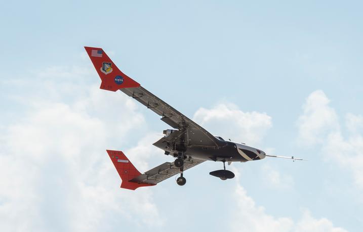 NASA无人机X-56成功完成测试机翼可变形和分离