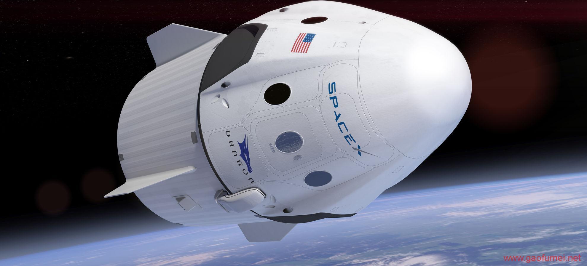 继二次回收运载火箭之后二手太空船也被SpaceX成功回收了 空间站 第1张-泥人传说