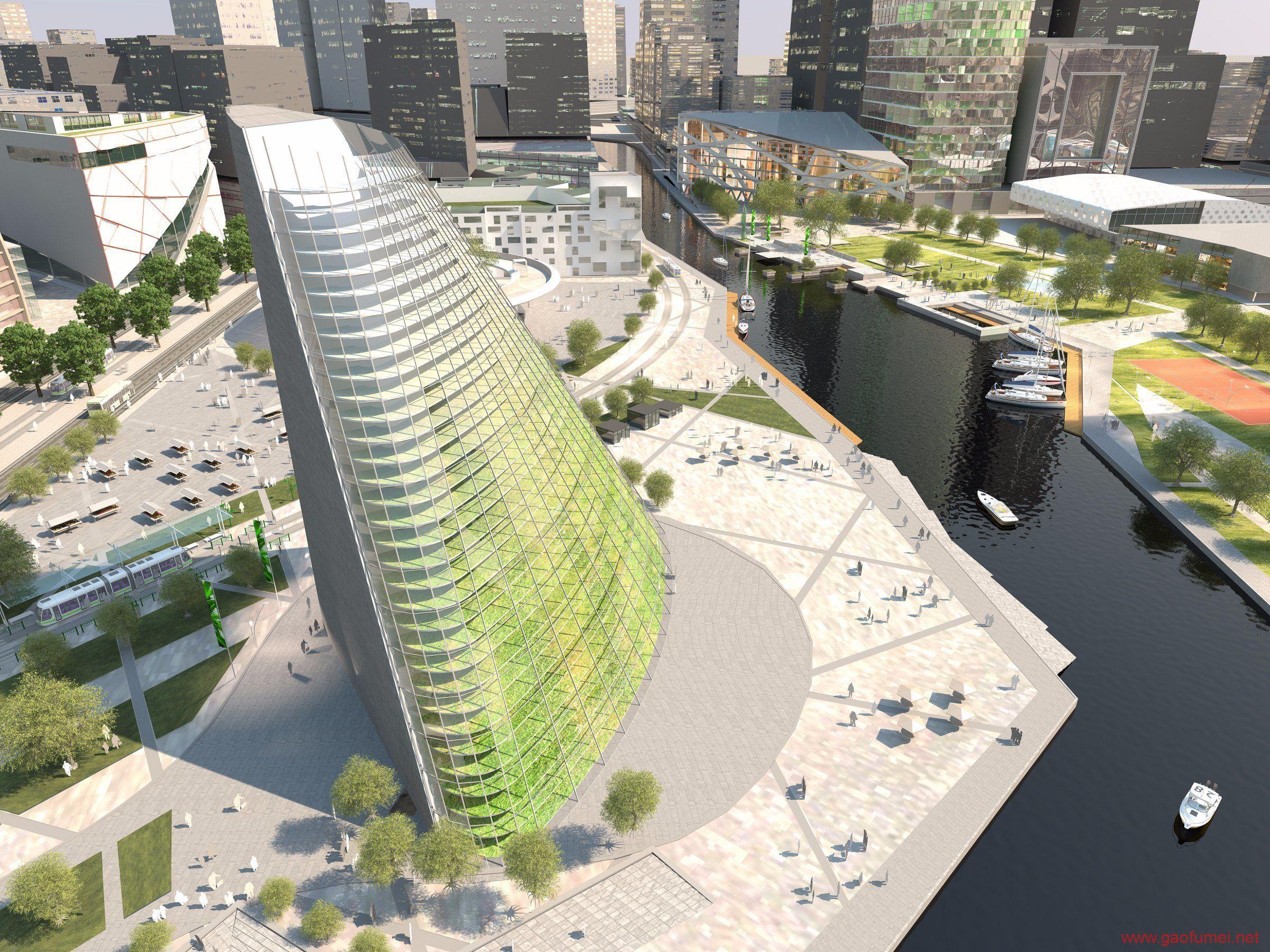 Plantagon在WEF发布植物大厦设计方案上海或将兴建城市农场 农业科技 第1张-泥人传说