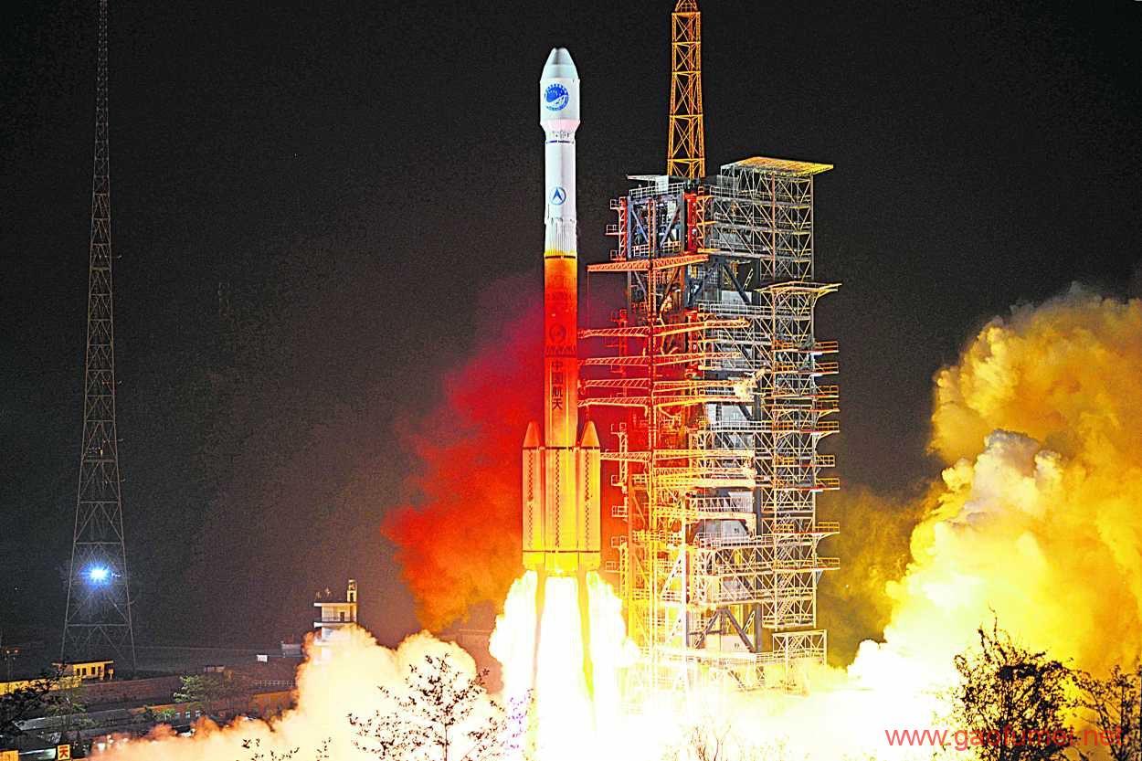 北斗三号首发卫星发射成功中国北斗拉开全球组网序幕 天文望远镜 第1张-泥人传说