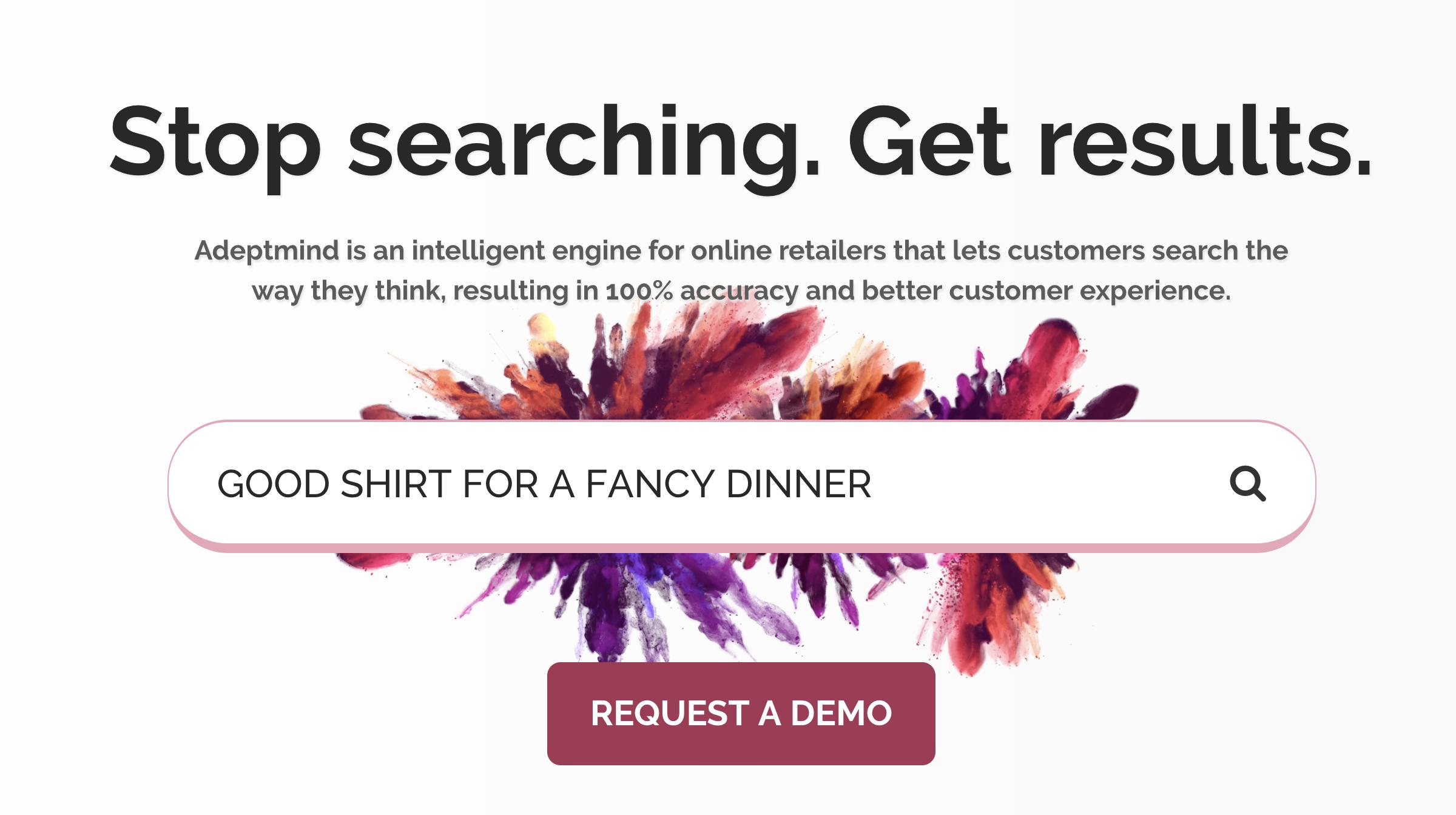购物搜索引擎AdeptMind获550万美元种子投资与谷歌在垂直细分领域竞争 搜索引擎 第1张-泥人传说
