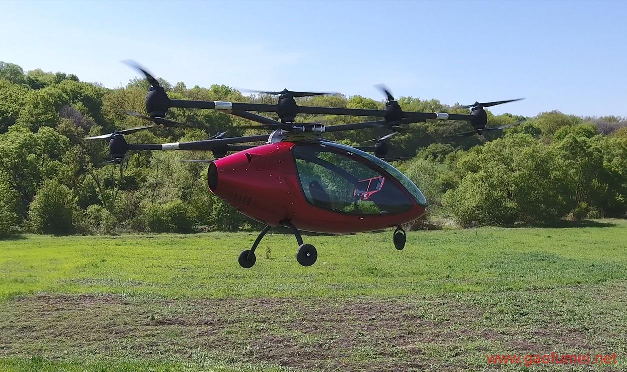 Passenger Drone发布载无人机拥有16旋翼能载2人 无人机 第4张-泥人传说