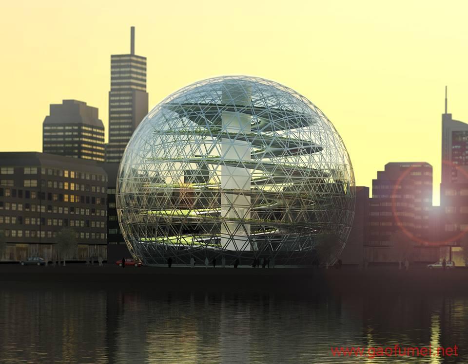 Plantagon在WEF发布植物大厦设计方案上海或将兴建城市农场 农业科技 第6张-泥人传说