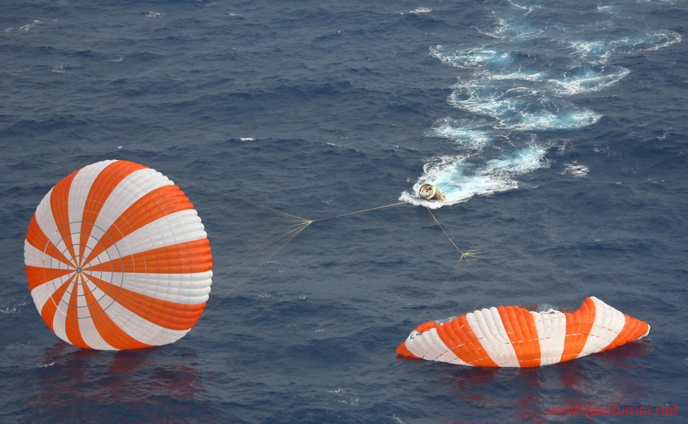 继二次回收运载火箭之后二手太空船也被SpaceX成功回收了 空间站 第2张-泥人传说