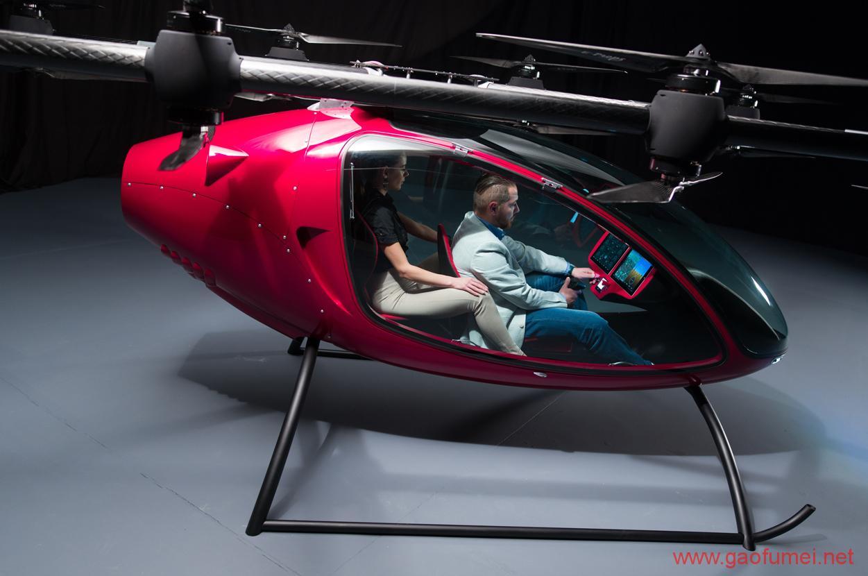 Passenger Drone发布载无人机拥有16旋翼能载2人 无人机 第5张-泥人传说