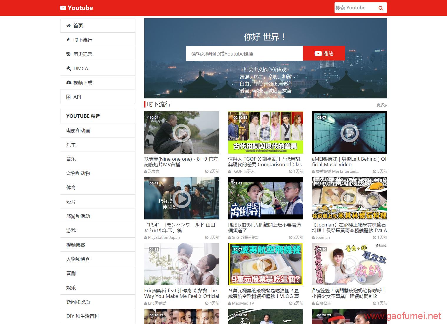 低成本搭建私人Youtube镜像,国外PHP虚拟搭建油管镜像攻略! 网络问题 第18张-泥人传说
