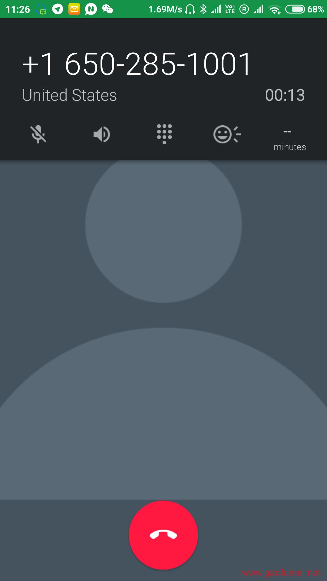 最新Google Voice 虚拟美国电话卡的注册方法(无需脚本,简单快速) 网络问题 第6张-泥人传说