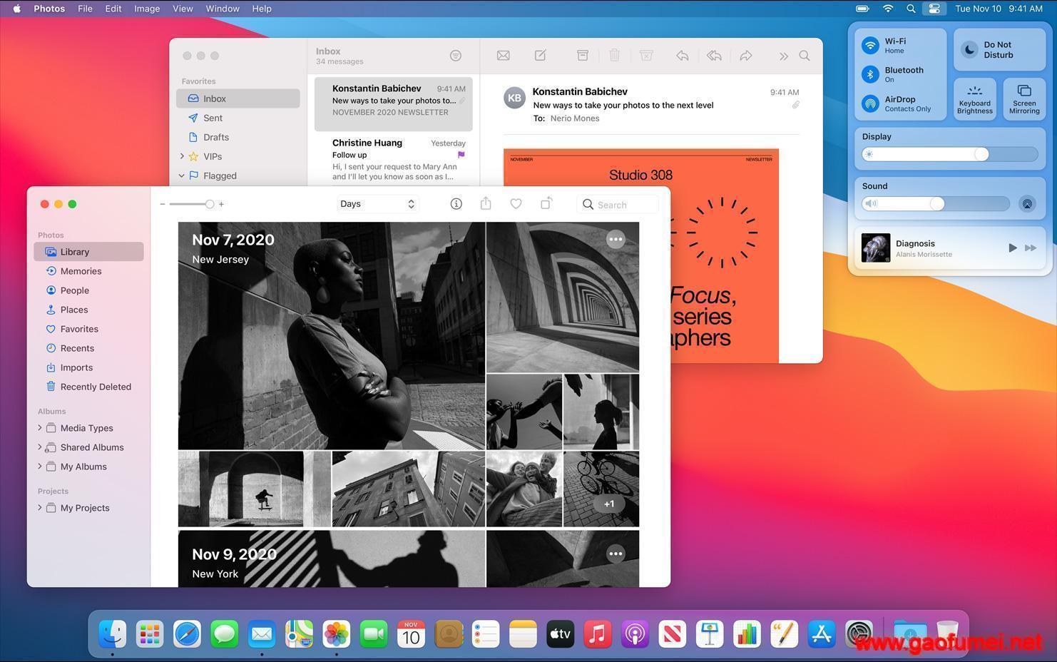 Mac OS Big Sur 11.0.1 (20B29) 正式版,黑苹果原版镜像免费下载和安装,自带Clover v5.0 r5126和OC引导 v0.6.3 黑苹果系统(破解版) 第2张-泥人传说